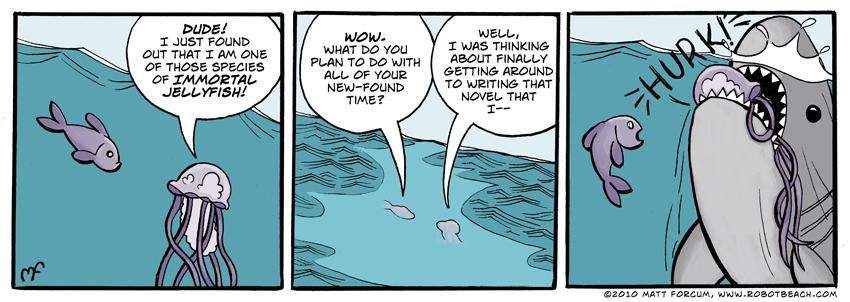 119 – Immortal Jellyfish