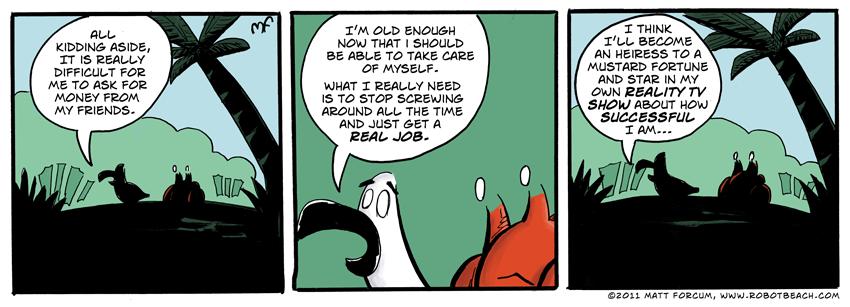 143 – A Real Job